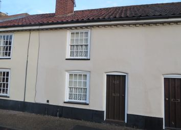 Thumbnail 2 bedroom terraced house to rent in Station Road, Halesworth