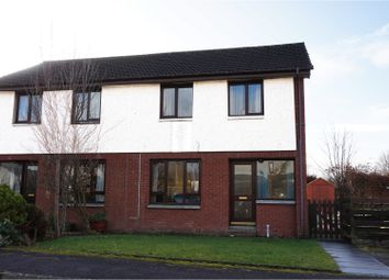 Thumbnail 3 bed semi-detached house for sale in Simpson Gardens, Dumfries