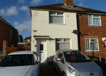 Thumbnail 2 bed semi-detached house for sale in Evans Close, Bedworth