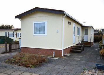 Thumbnail 2 bed mobile/park home for sale in Woodlands Park, Stopples Lane, Hordle, Lymington