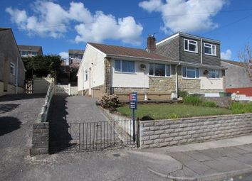 Thumbnail 2 bed semi-detached bungalow for sale in St Peters Close, Llanharan, Pontyclun, Rhondda Cynon Taff.