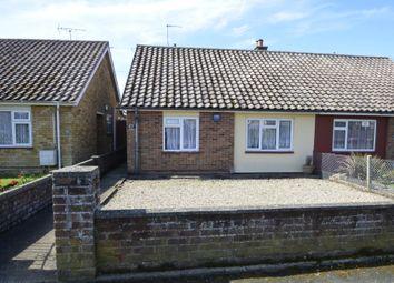 2 bed semi-detached bungalow for sale in Vicarage Road, Felixstowe IP11