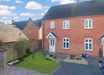 Thumbnail 3 bed semi-detached house for sale in Sandbrook Close, Hinstock, Market Drayton