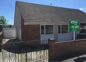 Thumbnail 2 bed bungalow to rent in Lindsay Close, Pencoed, Bridgend