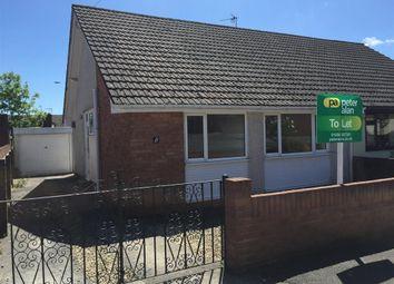 Thumbnail 2 bed bungalow to rent in Lindsay Close, Pencoed, Bridgend