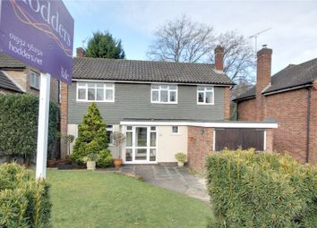Thumbnail 3 bed detached house for sale in Sandalwood Avenue, Chertsey, Surrey