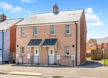 Thumbnail 2 bed semi-detached house for sale in Ffordd Y Celyn, Coity, Bridgend