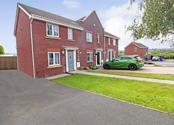 3 bed end terrace house for sale in Brook Meadow, Norton, Stoke-On-Trent ST6