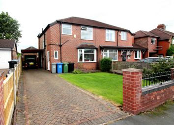 Thumbnail 3 bed semi-detached house to rent in Clover Road, Timperley