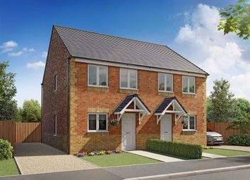 Thumbnail 3 bed semi-detached house for sale in Wheatriggs Court, Milfield, Wooler