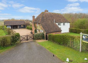 Thumbnail 3 bed detached house for sale in Highfield Lane, Sevington, Ashford