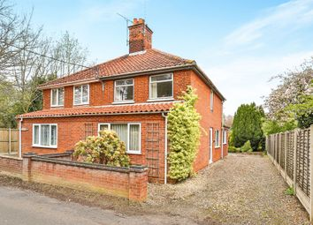 Thumbnail 3 bed semi-detached house for sale in Edgefield Road, Briston, Melton Constable