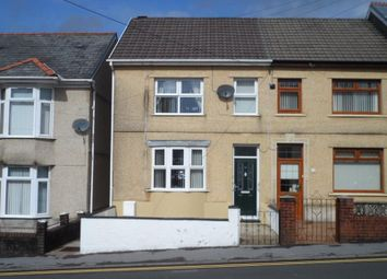 Thumbnail 3 bedroom end terrace house for sale in Brecon Road, Ystradgynlais, Swansea