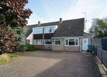 Thumbnail 3 bed semi-detached house for sale in Long Mynd Avenue, Hatherley, Cheltenham