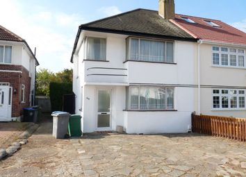 Thumbnail 3 bed semi-detached house to rent in Branksome Way, Kenton