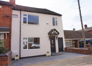 Thumbnail 4 bed end terrace house for sale in Stanhope Road, Swadlincote
