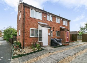 Thumbnail 1 bed terraced house for sale in Barnsdale Road, Leicester