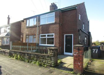 Thumbnail 3 bed semi-detached house to rent in Highfield Road, Prestwich, Manchester
