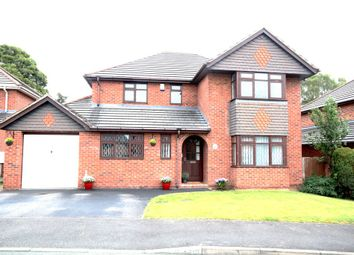 Thumbnail 4 bed detached house for sale in Valley Way, Hermitage Park, Wrexham