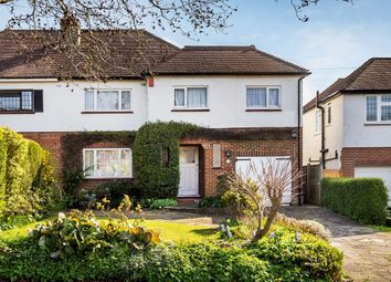 Thumbnail 4 bed semi-detached house for sale in Northey Avenue, South Cheam, Sutton
