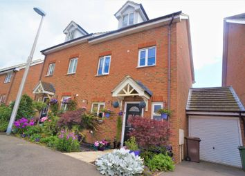 Thumbnail 4 bed semi-detached house for sale in Shelduck Close, Allhallows, Rochester