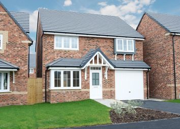 "Thumbnail 4 bed detached house for sale in ""Tetbury"" at Stanley Close, Corby"