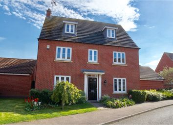 Thumbnail 5 bed detached house for sale in Robins Crescent, Lincoln