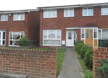 Thumbnail 3 bed semi-detached house to rent in Mill Road, Aveley, South Ockendon