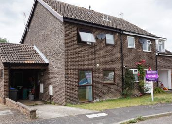 Thumbnail 3 bed semi-detached house for sale in Mill Hill Drive, Halesworth