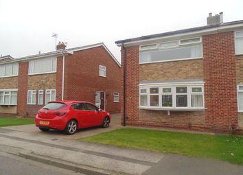 Thumbnail 3 bed semi-detached house to rent in Ashton Road, Stockton-On-Tees
