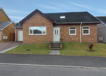 Thumbnail 4 bed detached bungalow to rent in Herons View, Pengam, Blackwood