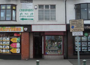 Thumbnail Retail premises for sale in Victoria Road West, Cleveleys