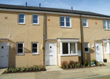 Thumbnail 1 bed terraced house to rent in Apollo Avenue, Cardea, Peterborough