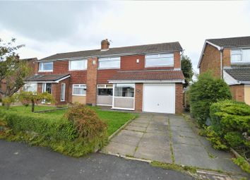 Thumbnail 3 bed semi-detached house for sale in The Fields, Eccleston, Chorley
