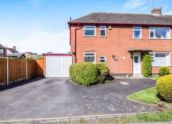 Thumbnail 3 bedroom semi-detached house for sale in Crossways, Burbage, Hinckley