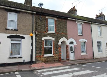 Thumbnail 2 bed terraced house to rent in Wainscott Road, Rochester, Kent