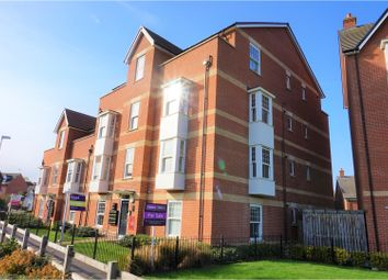 Thumbnail 2 bedroom flat for sale in Fletton Dell, Woburn Sands