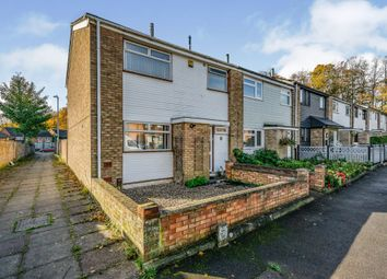 Thumbnail 3 bed end terrace house for sale in Harding Close, Luton
