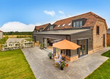 Pitt Lane, Frensham, Farnham GU10. 4 bed detached house for sale
