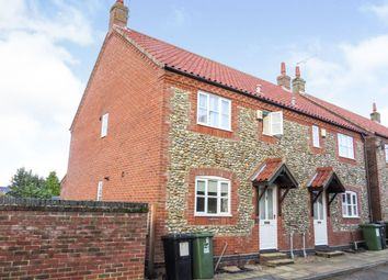 Thumbnail 3 bed cottage for sale in Caston Close, Holt
