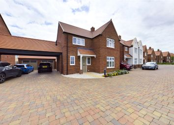 Thumbnail 4 bed detached house for sale in Senliz Road, Alconbury Weald, Huntingdon