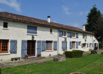 Thumbnail 5 bed property for sale in Genouille, Poitou-Charentes, 86250, France