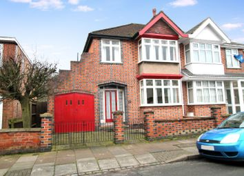 Thumbnail 3 bed semi-detached house for sale in Kimberley Road, Stoneygate/Evington, Leicester