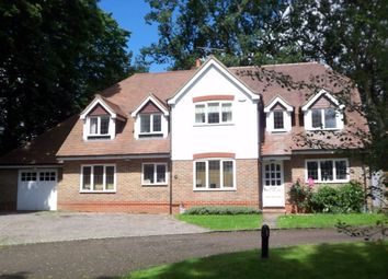 Thumbnail 5 bed detached house to rent in London Road, Camberley