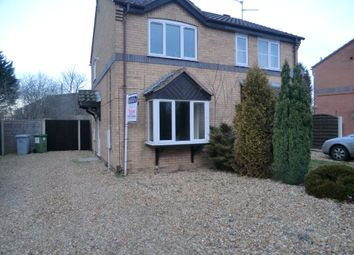 Thumbnail 2 bed semi-detached house to rent in Catkin Way, Balderton, Newark