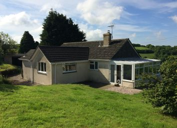 Thumbnail 4 bed detached bungalow to rent in Blackawton, Totnes
