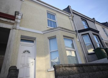 Thumbnail 4 bedroom terraced house to rent in Holdsworth Street, Plymouth