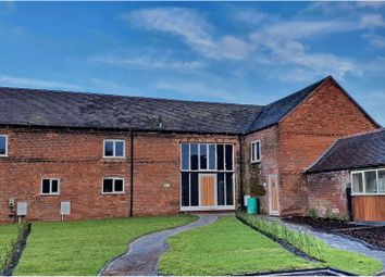 Thumbnail 4 bed barn conversion for sale in Pottal Pool Road, Stafford