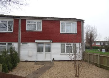 Thumbnail 3 bed end terrace house for sale in Barret Close, Wellingborough
