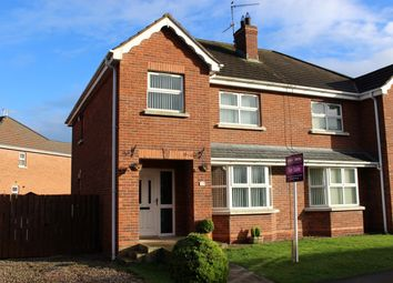 Thumbnail 3 bed semi-detached house for sale in Old Fort Lodge, Craigavon